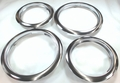 Trim Ring Set for Frigidaire, (2) 5303291616, FT6 & (2) 5303291617, FT8