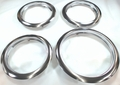 Trim Ring Set for Frigidaire, (3) 5303291616, FT6 & (1) 5303291617, FT8