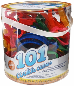 Wilton 101 Piece Cookie Cooker Set, 2304-1050