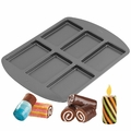 Wilton 6-Cavity Coil Cakes Mini Cake Pan, 2105-3645
