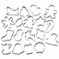 Wilton Bakeware, Holiday 18 Pc Metal Cookie Cutter Set , 2308-1132