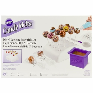 Wilton, Candy Melts Dip-N-Decorate Essentials Set, 2104-0032