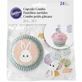 Wilton Easter Bunny Cupcake Decorating Kit, 24 Sets, 415-7903