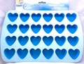 Wilton Easy-Flex Silicone Bakeware, 24 Cavity Mini Heart Mold, 2105-4909