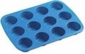 Wilton Easy-Flex Silicone Bakeware, 8 Cavity Mini Muffin Pan, 2105-4829