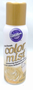 Wilton Gold Color Mist Shimmering Food Color Spray, 710-5520