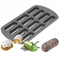 Wilton Non-Stick 12-Cavity Delectovals Cake Pan, 2105-3646