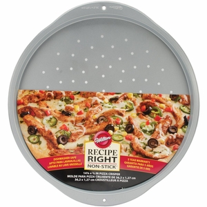 Wilton Recipe Right Non-Stick Pizza Crisper, 14-Inch, 2105-993