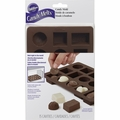 Wilton Silicone, 15 Cavity Box Of Chocolates Candy Mold, 2115-8515