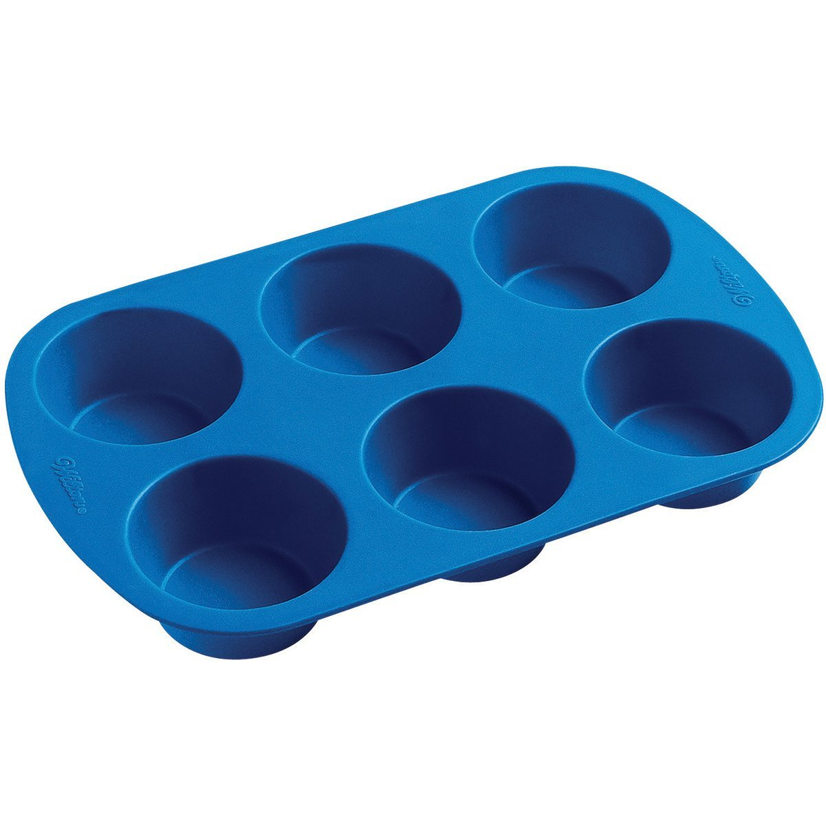 2105 4802 Wilton Silicone Bakeware 6 Cup Muffin Pan