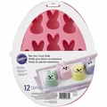 Wilton Silicone Bunny Mini Treat Mold, 2105-5760