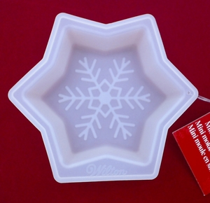 Wilton Silicone, Clear Mini Snowflake Mold, 2105-3267