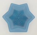 Wilton Silicone, Dark Blue Mini Snowflake Mold, 2105-5388