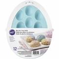 Wilton Silicone Easter Egg Shaped Treat Mold, 2105-5719