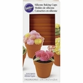Wilton Silicone Flower Pot Baking Cups, 12 Count, 415-4120