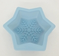 Wilton Silicone, Light Blue Mini Snowflake Mold, 2105-3268