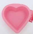 Wilton Silicone, Light Pink Mini Heart Mold, 2105-3114