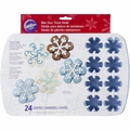 Wilton Snowflake Silicon Mold Pan, 24 Cavity, 2105-8327