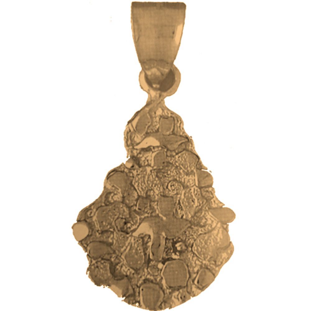 10k 14k or 18k gold nugget pendant az5755dz 10k 14k or 18k gold nugget pendant mozeypictures Image collections