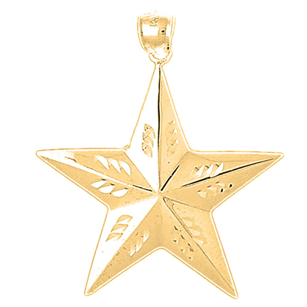 10k 14k or 18k gold star pendant az5641dz 10k 14k or 18k gold star pendant mozeypictures Gallery