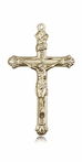14K Gold Crucifix Medal