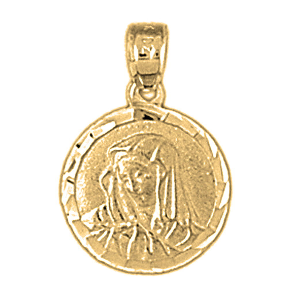 miraculous mother market mary medal il etsy medallion gold necklace virgin