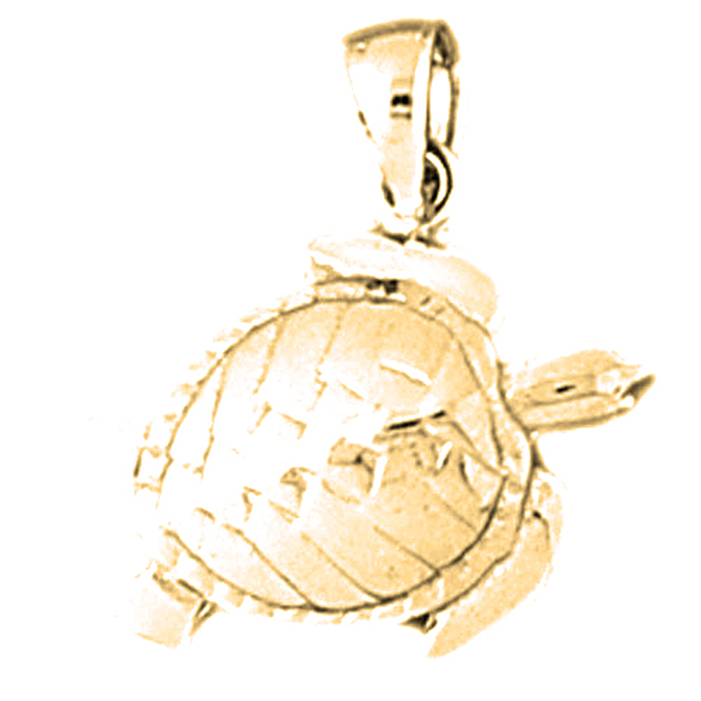 14k or 18k gold turtle pendant az11030dz 14k or 18k gold turtle pendant aloadofball Choice Image