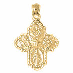 4-Way Cross Pendants