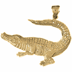Alligators & Crocodile Pendants