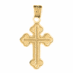 Budded Cross Pendants