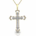 Diamond Cross & Crucifix Pendants