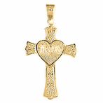 Heart & Cross Pendants