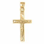 Latin Crucifix Pendants