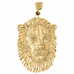 Lion Head Pendants