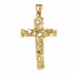 Nugget Cross Pendants