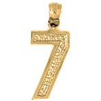 Number Pendants