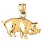 Pig & Boar Pendants