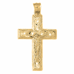 Vine Crucifix Pendants