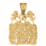 Wailing Wall & Ten Commandment Pendants
