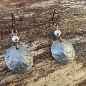 Buffalo Nickel Dangle