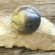 Buffalo Nickel Ring. Handmade Buffalo Nickel Ring. Valentine's Day Gift for Him or Her. Western Ring.