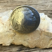 Buffalo Nickel Ring. Valentine's Day Ring. Handmade Nickel Ring, One of a Kind Coin Ring. US Coin Ring with Indian.