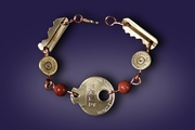 Bullets and Key Bracelet