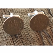 Lincoln Wheat Penny Cufflinks