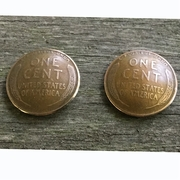 Lincoln Wheat Penny Post Earrings