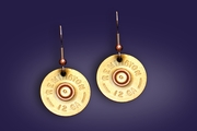 Shotgun Shell Earrings on Wire