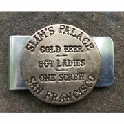 Slim's Palace in San Francisco Brothel Token Clip For Men