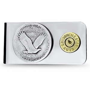 Standing Liberty and Bullet Money Clip