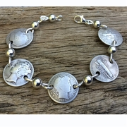 The Last 100 Years Of Dimes Bracelet