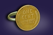 Wheat Penny Ring